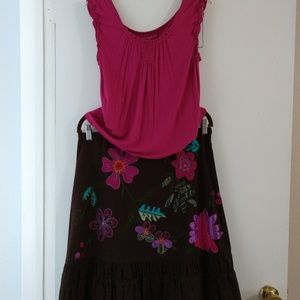 Bandolino Skirt set sz 10